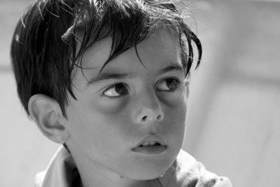 Ragazzino, portret van Italiaans jongetje.